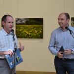 dr. Kézdy Pál beszélget Kudich Zsolt fotóművésszel (Fotó: György Zoltán)