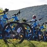 Gyönyörű Pilisi kilátások várnak e-bike túráinkon.