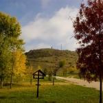 A Strázsa-hegy lábánál (fotó: Szax Zsolt)