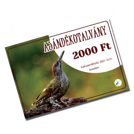 Ajándékutalvány 2000