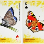 A Duna-Ipoly Nemzeti Park védett lepkéi, francia kártyacsomag