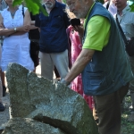 Juhász Árpád mesél a Jókai kora, Jókai bora rendezvényen a kőzetekről (fotó:Halász Ferenc)