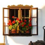 A tájház egyik ablaka (fotó: H. Kolláth Mária)