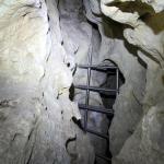 A Gánti barlang lezárását a denevérvédelmen túl a fokozott balesetveszély is indokolta. (Fotó: Klébert Antal)