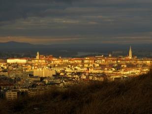 Naplemente Sas-hegyen (Fotó: Etter Dénes)